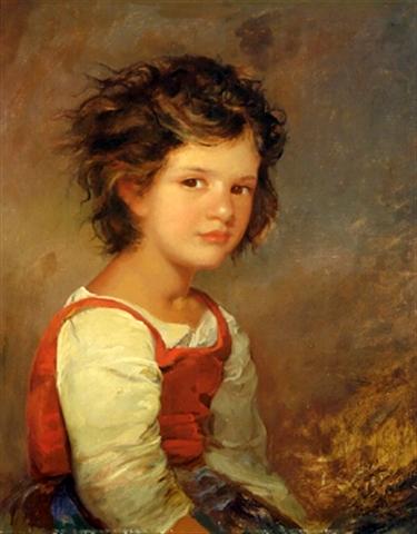 Bildnis einer jungen Romerin