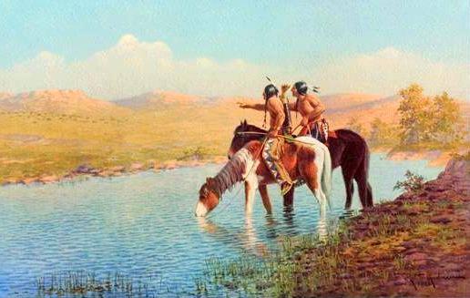 Buffalo scouts