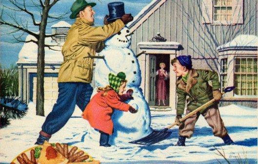 Building The Snowman