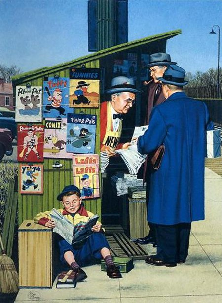 At The Newsstand