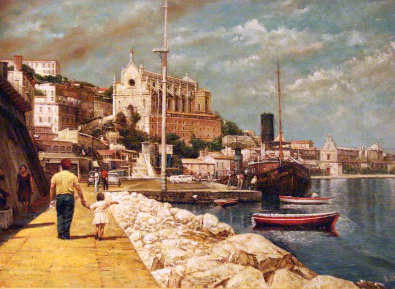 Italian Sea Town