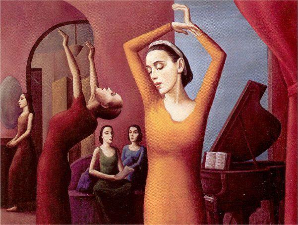 Martha Graham Dance Class