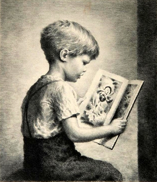 Picture Book - Boy Reading
