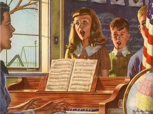 Singing In Classroom
