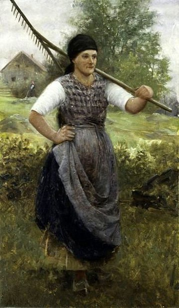The Bohemian Peasant Girl