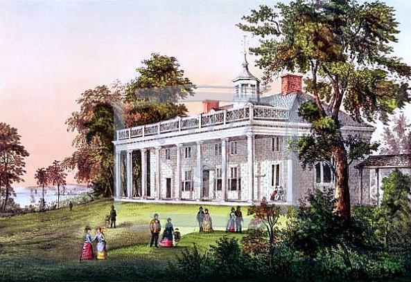 The Home of Washington, Mount Vernon, Virginia
