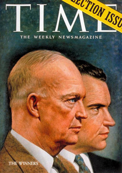 The Winners (Dwight Eisenhower & Richard Nixon)
