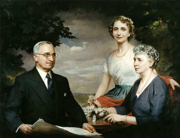 Truman Family Portrait