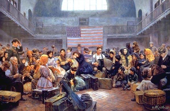 Ellis Island - Main Hall
