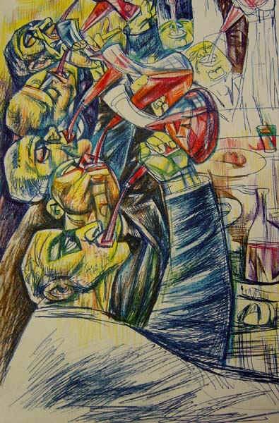 Italian Wine Drinkers