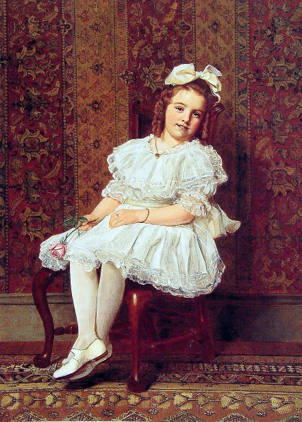 Portrait of Miss Gibson