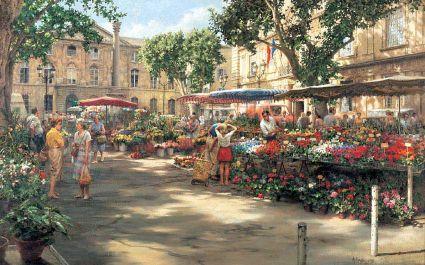 small_Flower Market, Aix-en-Provence