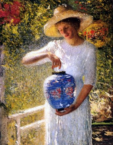 Girl With Lantern