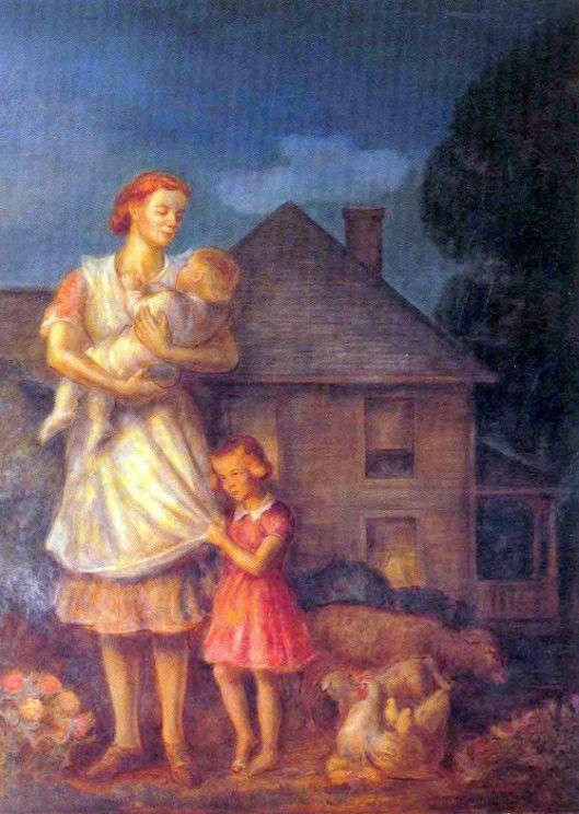 Kansas Pastoral, Planter's Family