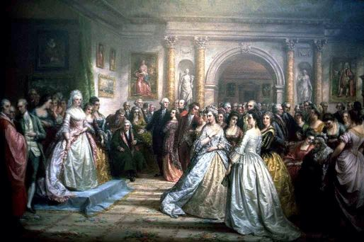 Lady Washington's Reception (Republican Court In The Time Of Washington)