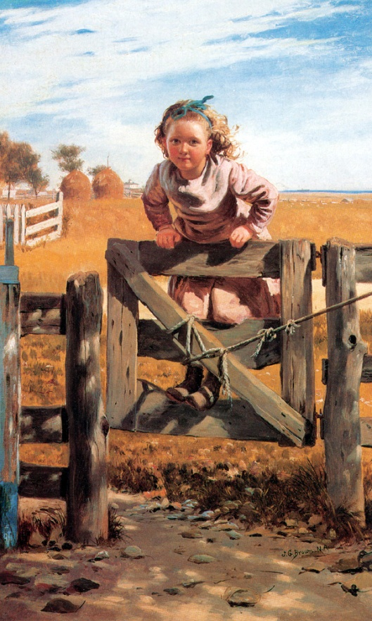 Swinging On A Gate, Southamton, Long Island