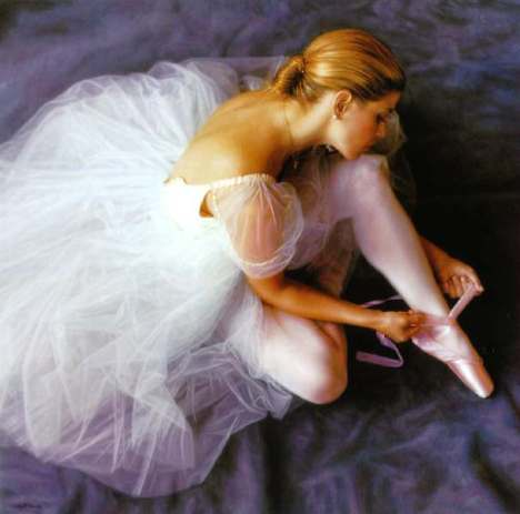 The Ballerina (Mary Tying)
