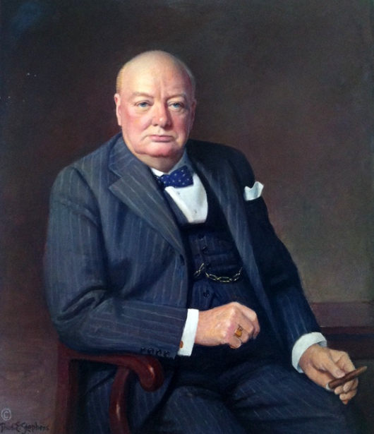 Winston Churchill (Special thanks to Dilys Finlay Stephens and Stephen Coon)