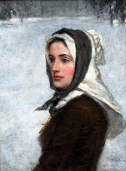 A Puritan Maiden