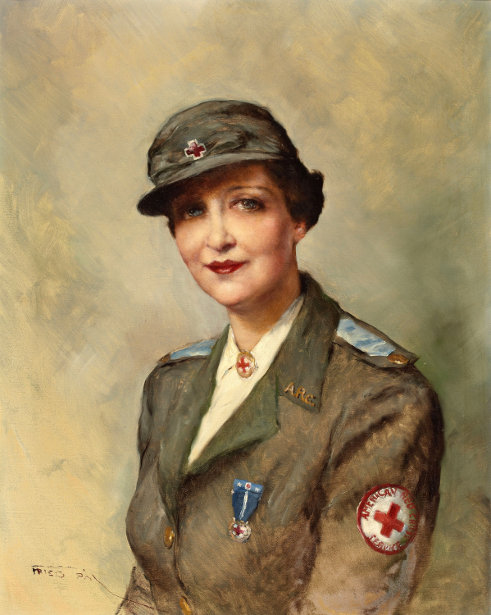 American Red Cross Service Woman