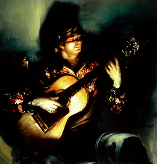 El Leton, Flamenco Guitarist