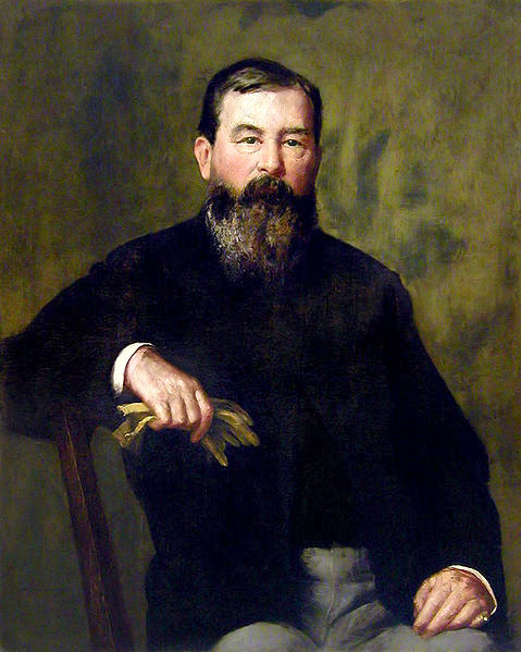 Portrait Of An Unknown Bearded Gentleman