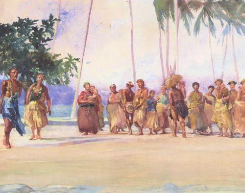 Fagaloa Bay, Samoa