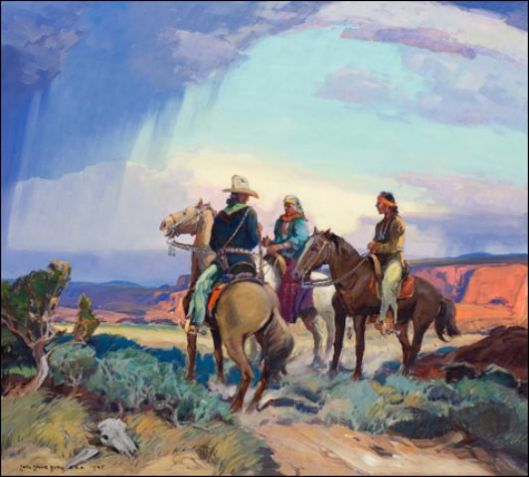 The Navajo Horsemen