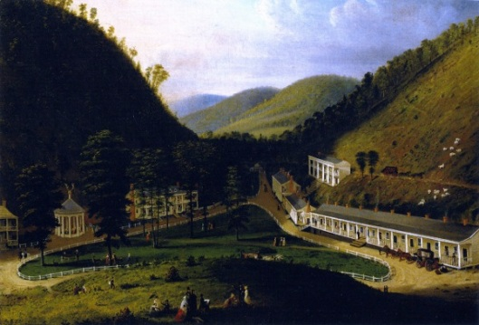 View Of Red Sulphur Springs, Virginia