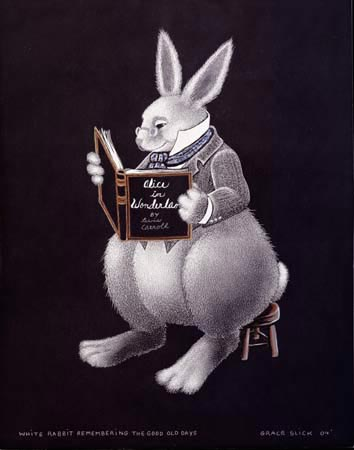 White Rabbit Remembering The Good Old Days