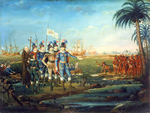 First Landing of Christopher Columbus (sm)