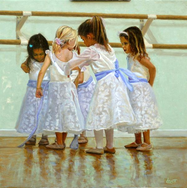 Little Ballerinas Dressing