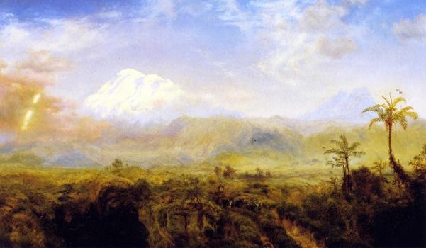 Mount Chimborazo - Table Lands Of Rio Bamba, Ecuador