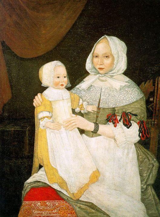 Mrs. Elizabeth Freake And Baby Mary