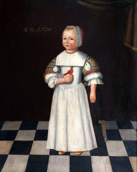 Portrait Of Henry Gibbs