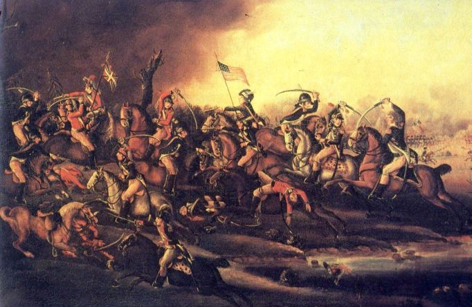 The Battle Of Cowpens, SC, 1781