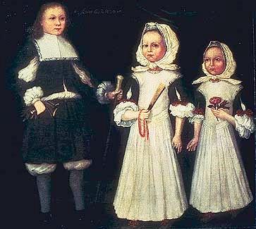 The Mason Children - David, Joanna And Abigail