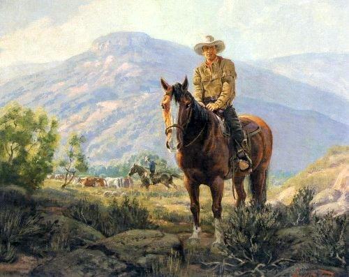 Exceptionnel Ernest Tonk (1889 – 1968) « AMERICAN GALLERY OG03