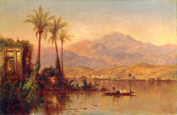 Vespers, Guayaquil River, Ecuador (South American Scene)