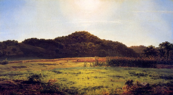 View Across The Valley Of Pierstorn - New York, From A Point Above Cascade Hills