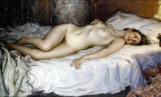 Enraptured Nude