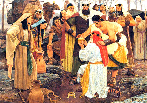 Lehi Finds The Liahona