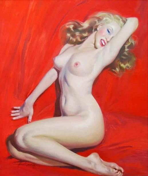 Nude Study Of Marilyn Monroe