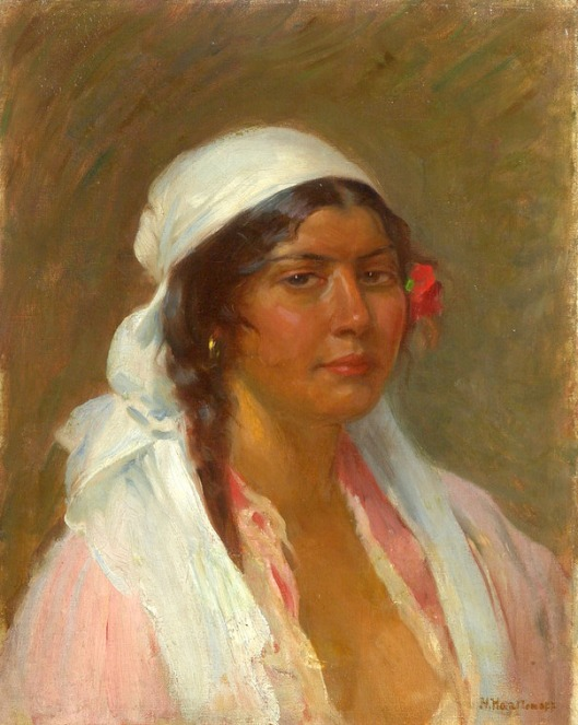 Portrait Of A Gypsy