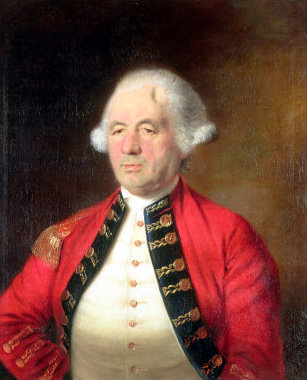 Portrait of Augustin Prevost In Uniform