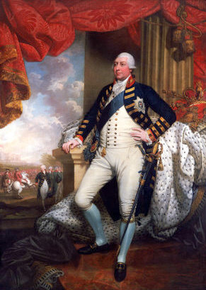 Portrait of George III, 1790