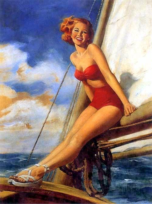 Sailing (A Sight To Sea)