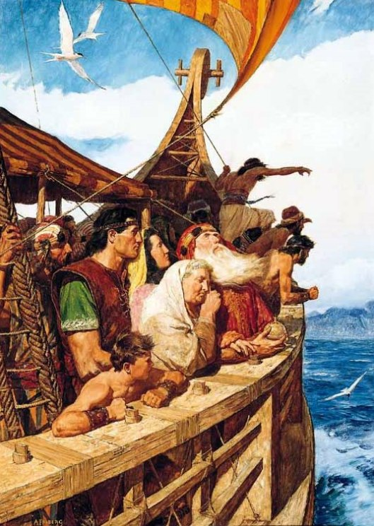 Sailing To The New World (Promised Land)