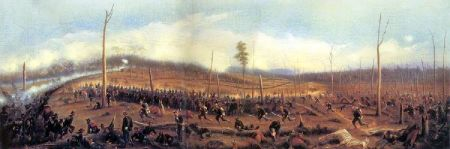 The Battle Of Chickamauga - September 19, 1863