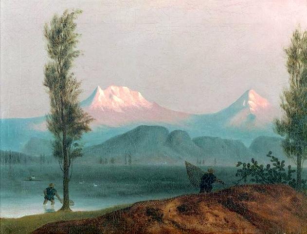 View Of Popocatepetl and Iztaccihuatl